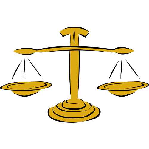 Clip Art Scales Of Justice - ClipArt Best