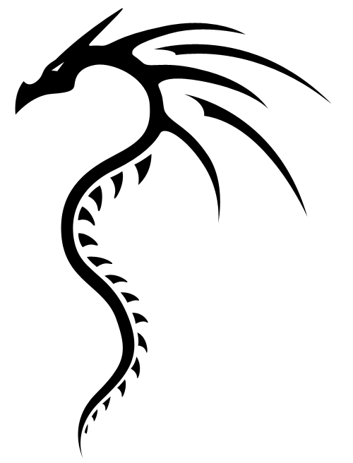33 Tattoo Simple Dragon Free Cliparts That You Can Download To