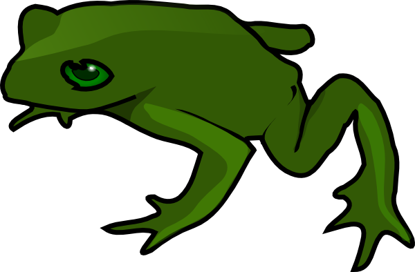 18 frog outline free cliparts that you can download to you computer ...