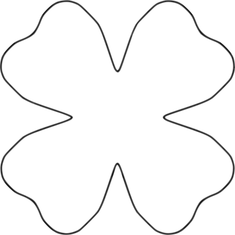 Four Petal Flower - ClipArt Best