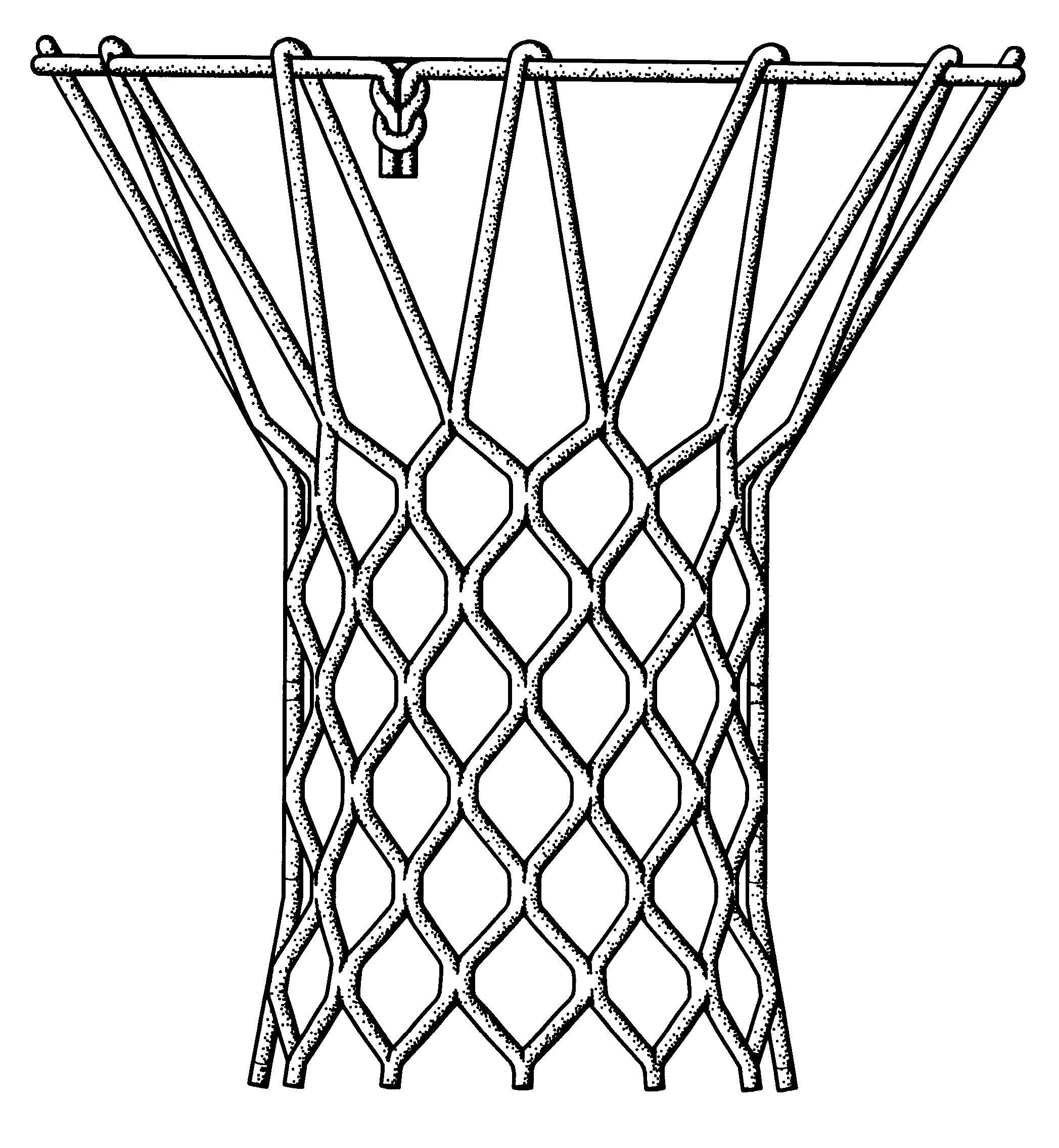 Basketball Net Drawing - ClipArt Best - ClipArt Best