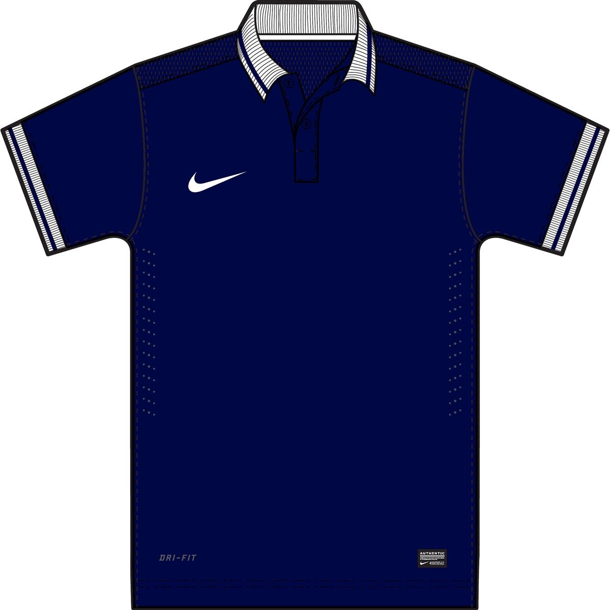 T-shirt Template Navy
