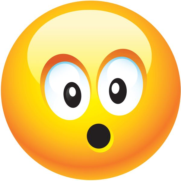 Surprised Smiley Face - ClipArt Best