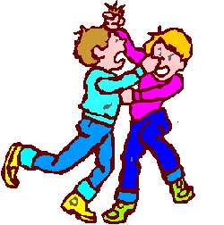 Cartoon Pictures Of People Fighting Clipart Best