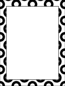 simple border designs for school projects to draw
