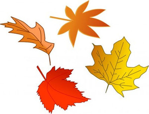 Free Fall Leaves Clip Art Collections