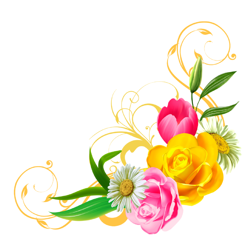 Floral and Flowers PNG Clipart - ClipArt Best - ClipArt Best