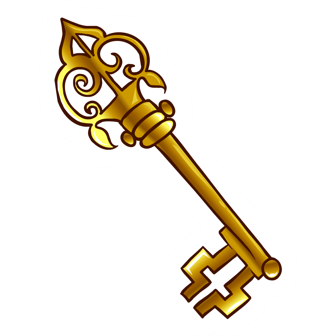 Lock Pick Key >> Skeleton Key Pictures - ClipArt Best