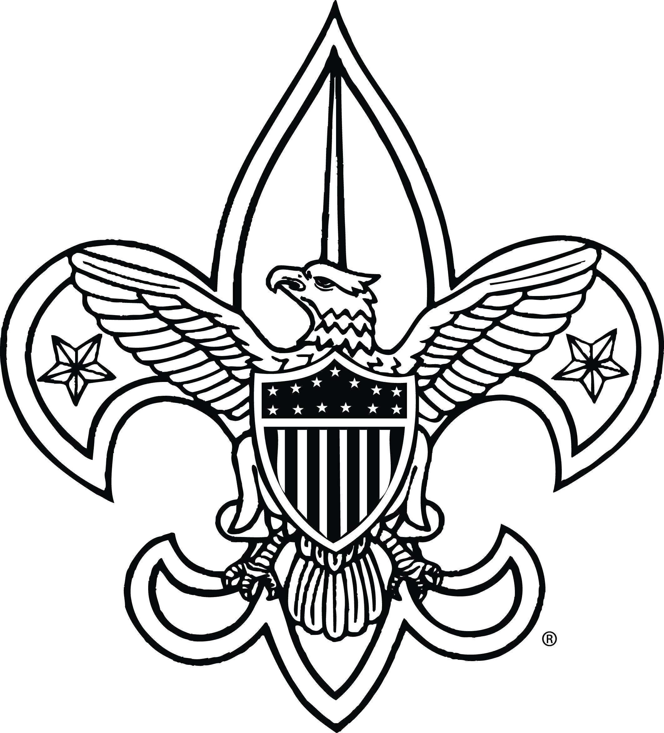 boy scout symbol clipart best