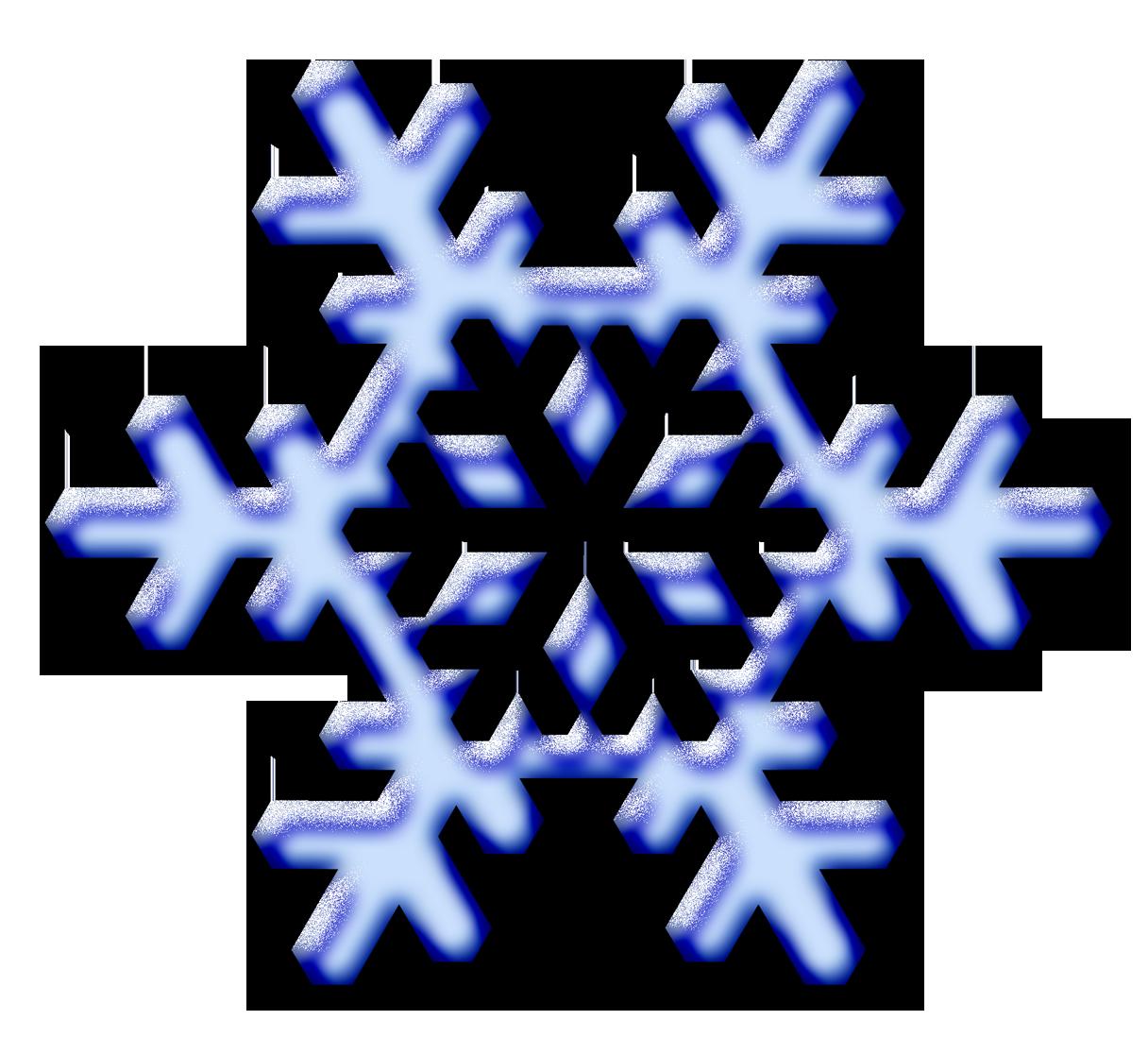 Clip Art Snow Flakes - ClipArt Best