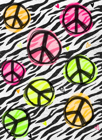 Peace And Love Iphone Wallpaper : Zebra Print Tumblr Backgrounds, Zebra Print Tumblr Themes, Zebra ... - clipArt Best - clipArt Best