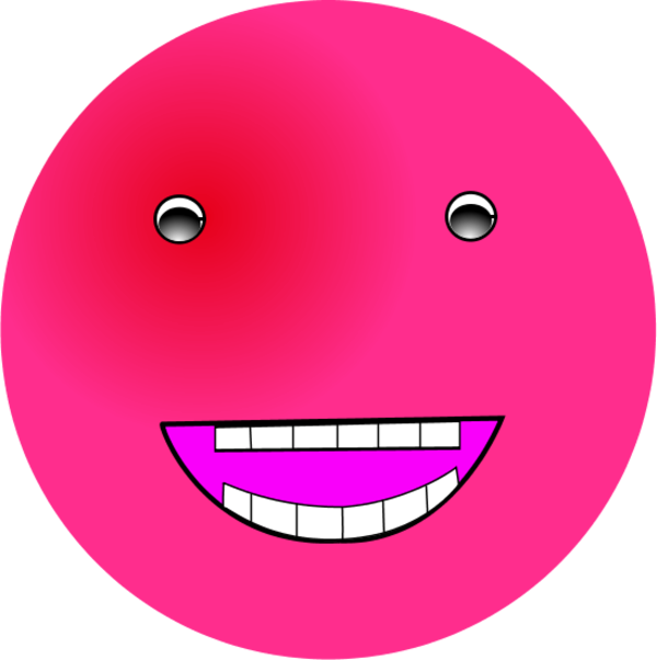 Pink Smiley Transparent - ClipArt Best