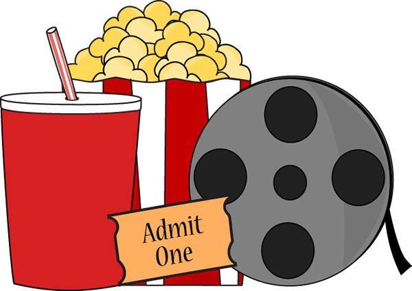 Movie Clip Art Free Download Movie Night Clip Art Image