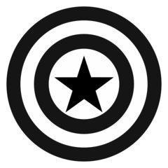 black and white superhero logos pictures to pin on