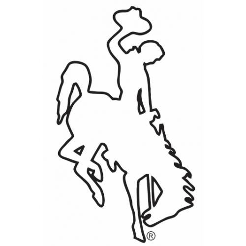Wyoming Bucking Horse (Steamboat) Outline | Styfe Life