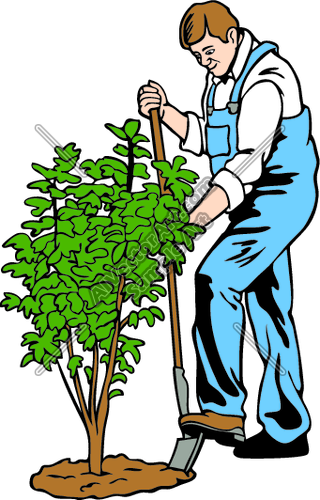 Landscaping Work Clip Art – Cliparts