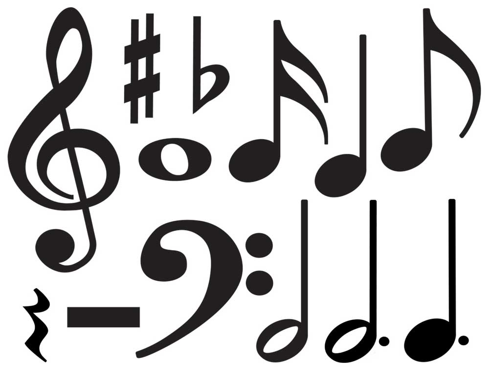 clip art music notation - photo #29