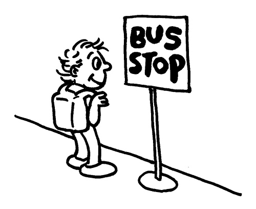 Bus Stop Flickr Photo Sharing Clipart Best