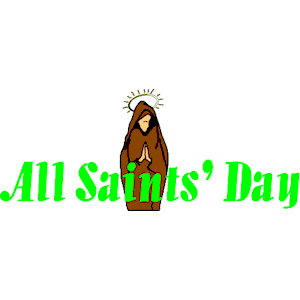 All Saints'' Day clipart, cliparts of All Saints'' Day free ...