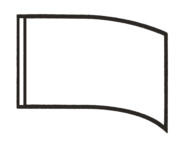 blank flag template clipart best