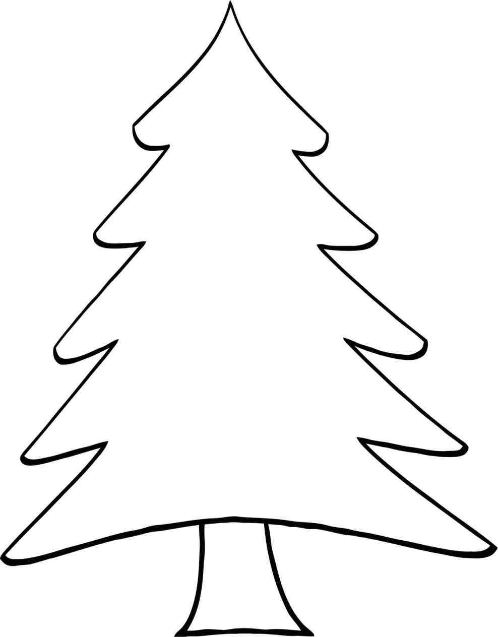 Pine Tree Drawing - ClipArt Best