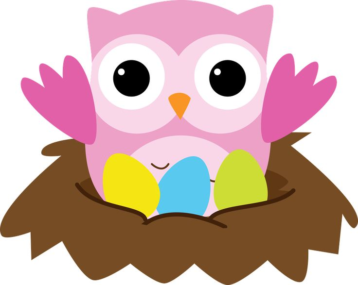 free easter owl clip art - photo #50