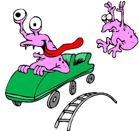 Rollercoaster Clip Art - ClipArt Best