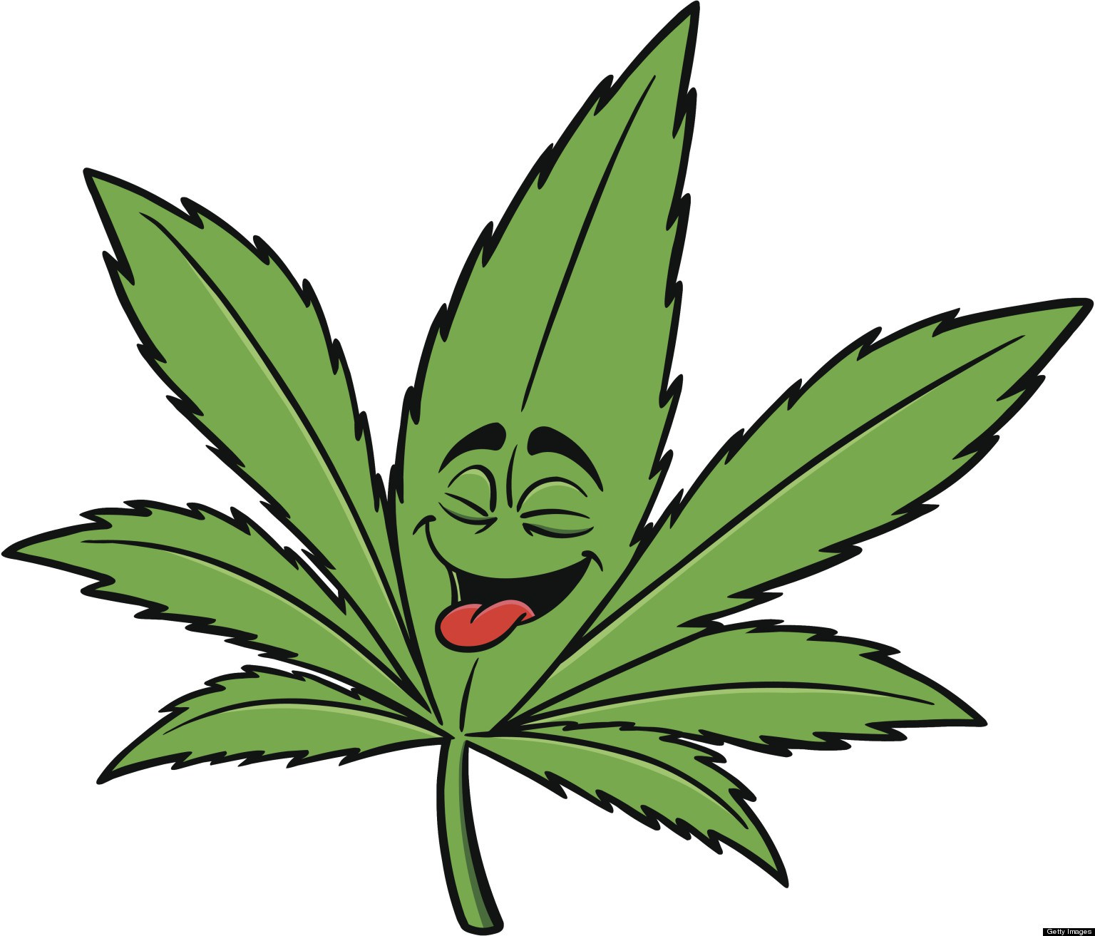 Marijuana Leaf Outline - ClipArt Best