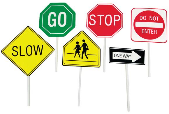 street signs for kids clipart best