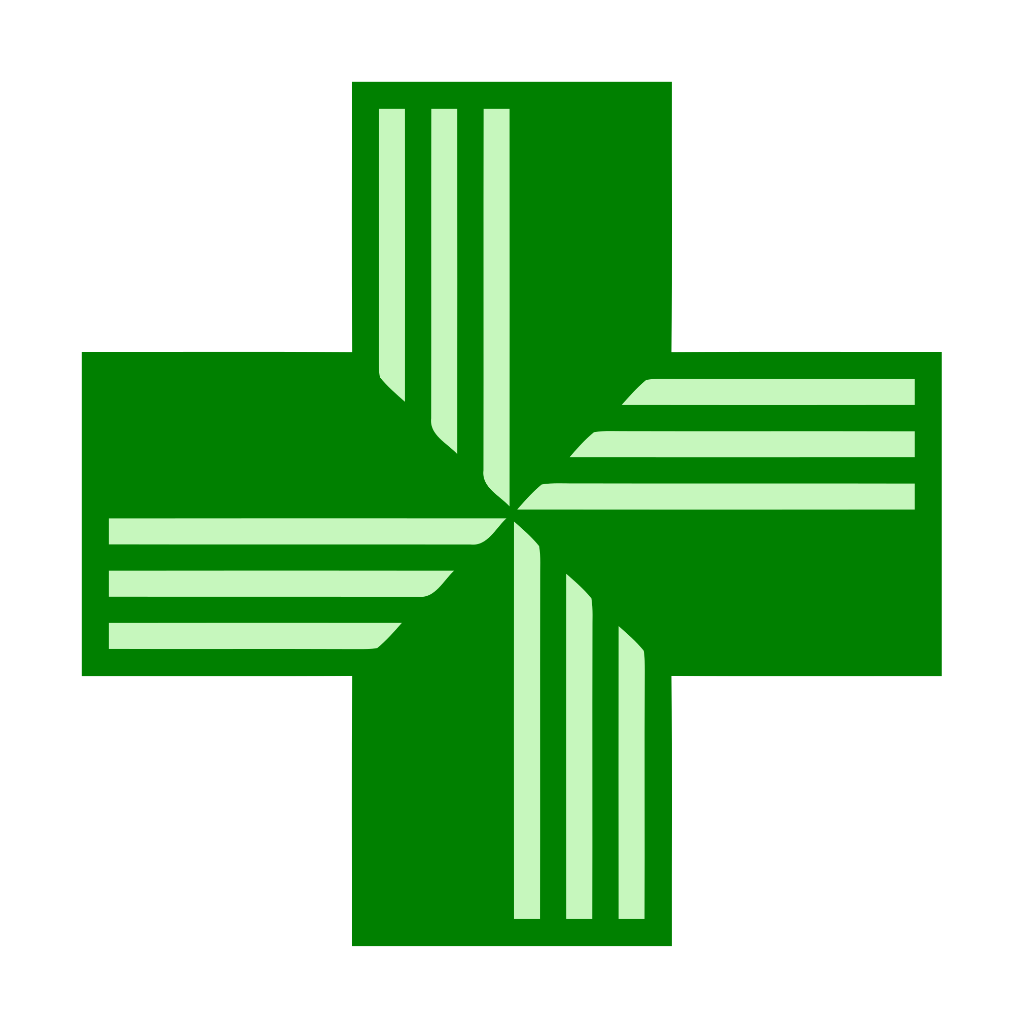 File:Pharmacy Green Cross.svg