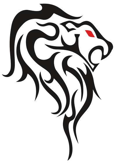 Lion tattoo design drawing