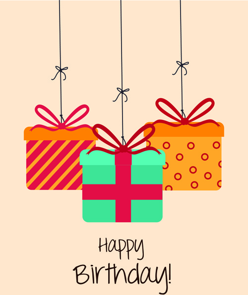 Happy birthday greeting cards free vector download (16,039 Free ...