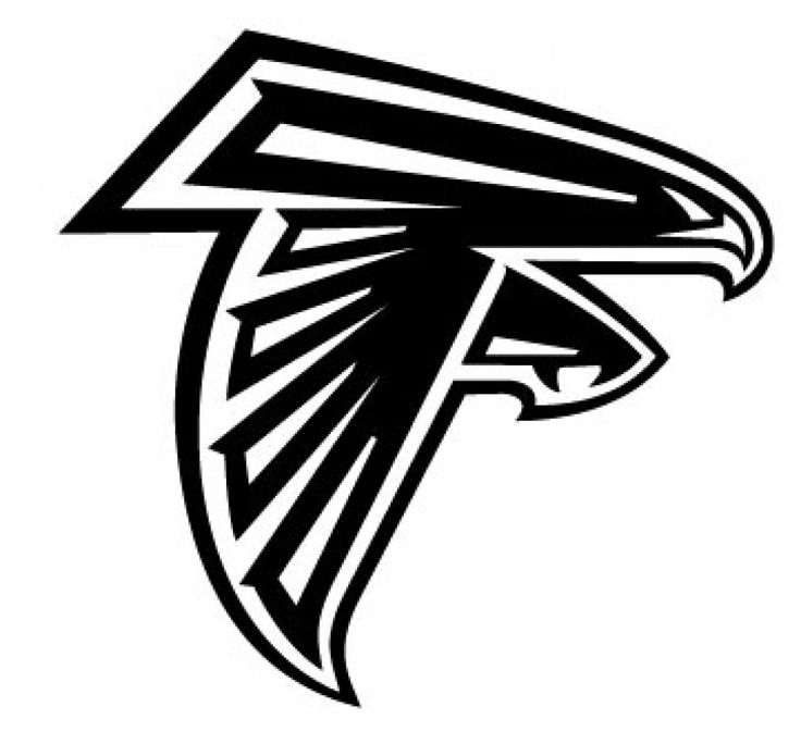 Atlanta falcons logo free clipart