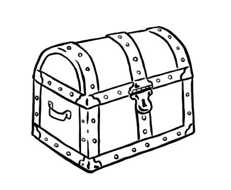 treasure chest clipart black and white clipart best free pirate treasure chest clipart Pirate Chest Clip Art