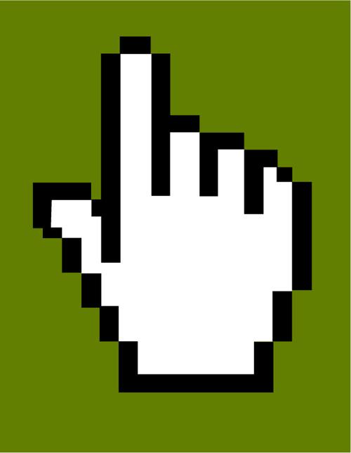 Hand Cursor Vector Icon | Free