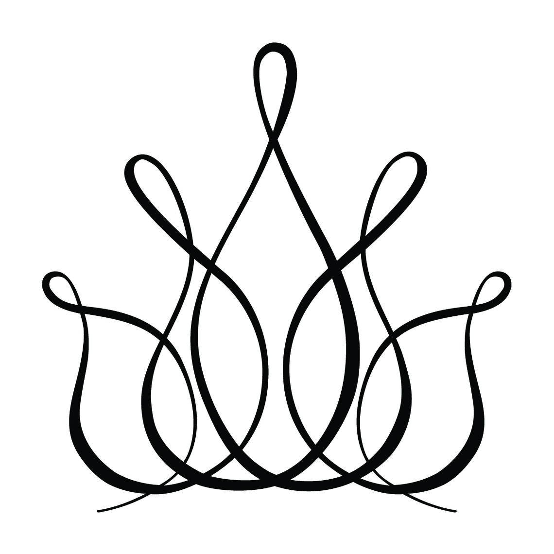 Line Art Design Illustration : King crown line drawing clipart best