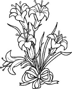 Clip Art Easter Lily Clipart easter lily clip art clipart best lilies drawing