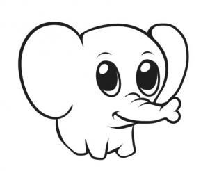 Easy To Draw Elephant ClipArt Best