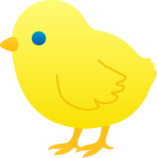 Cartoon chick clip art at vector clip art image #22281
