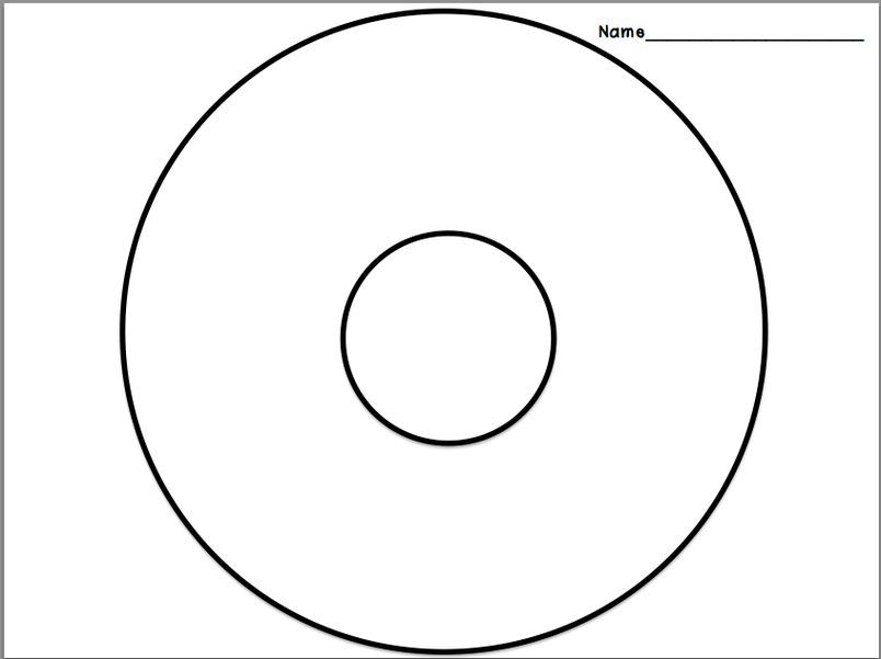 Transformative image intended for circle map printable