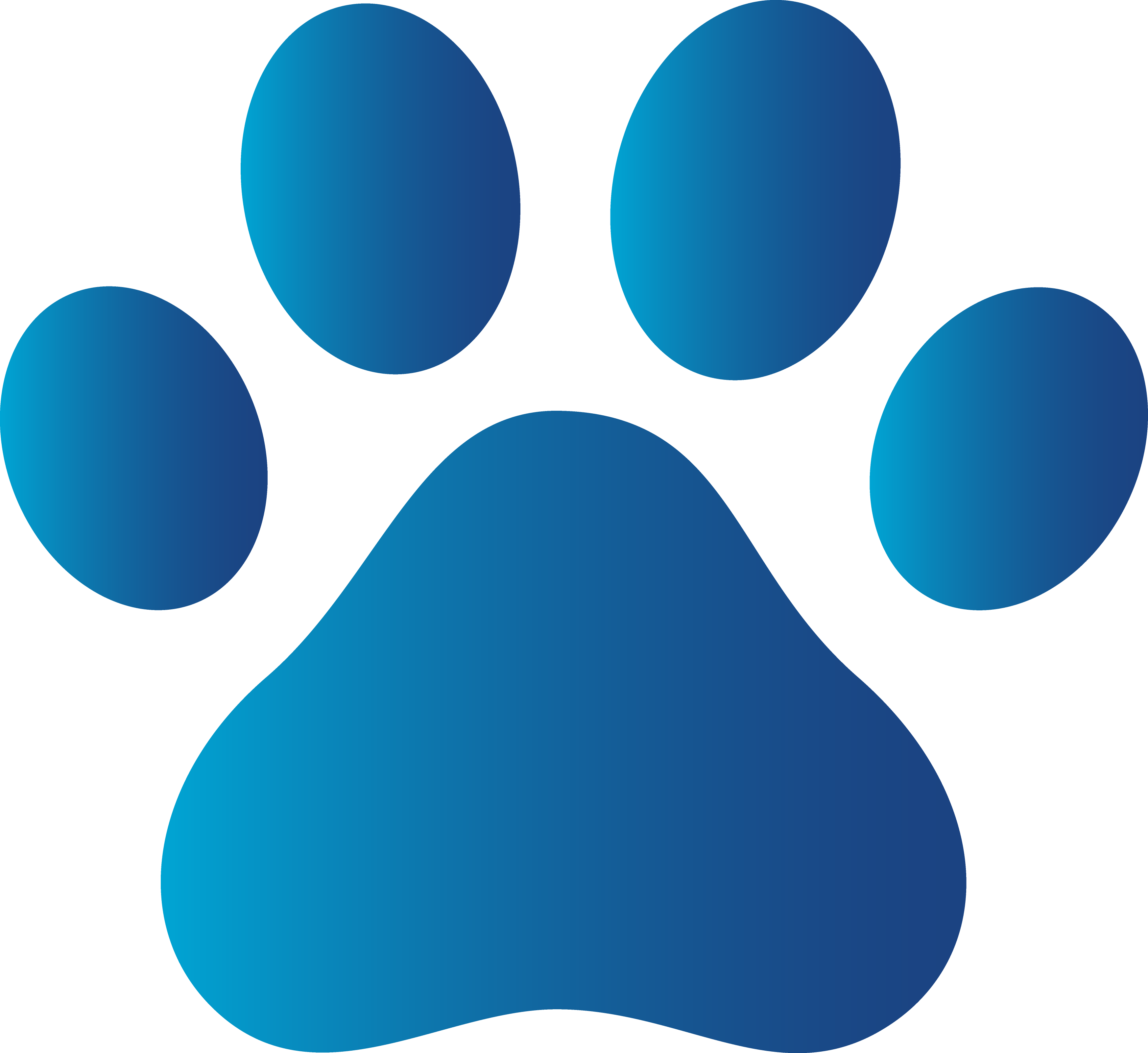 Logo Dog Paw - ClipArt Best