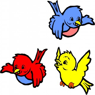 Cartoon Bird Flying - ClipArt Best