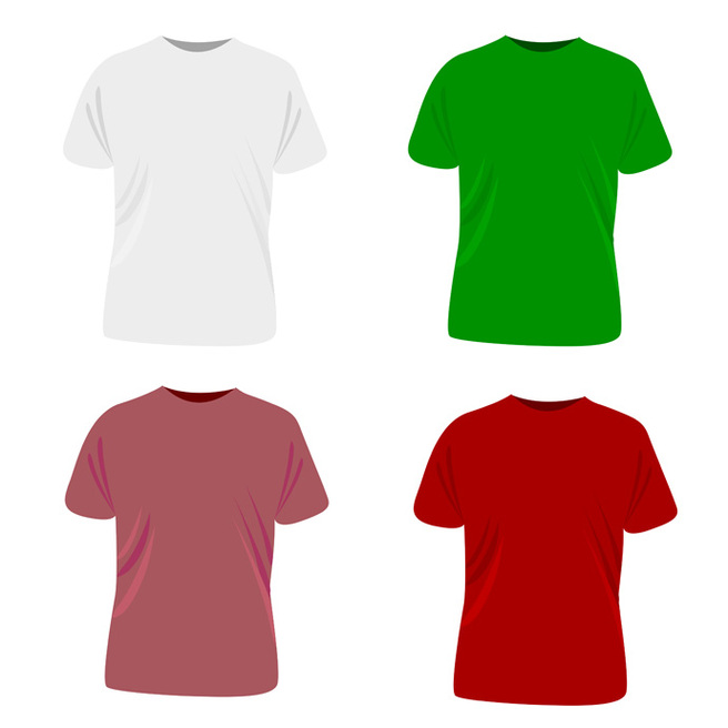 Red T Shirt Template Clipart - Free to use Clip Art Resource