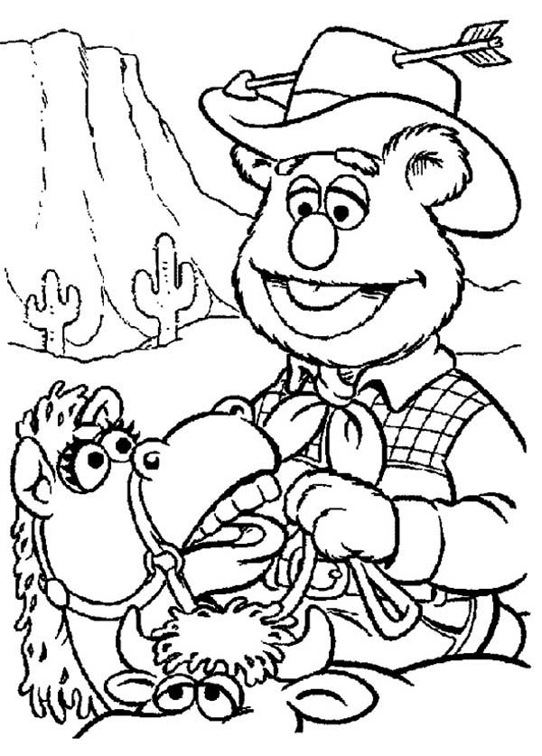 wildwest coloring pages - photo#32