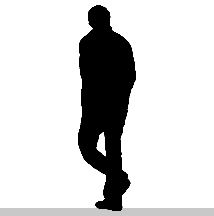 Silhouette Of A Man - ClipArt Best