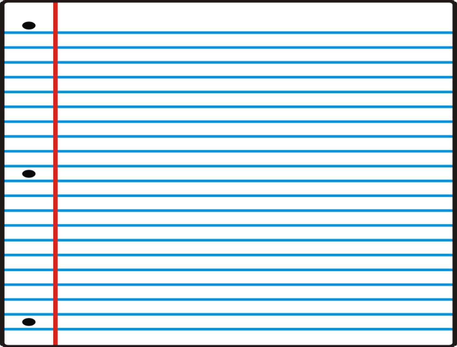 Piece Of Notebook Paper Clipart - ClipArt Best - ClipArt Best