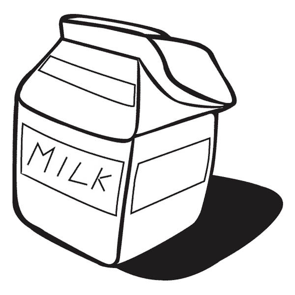 milk carton coloring pages - photo#16