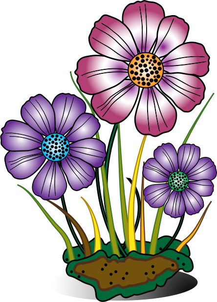 Free to Use & Public Domain Flowers Clip Art - Page 3