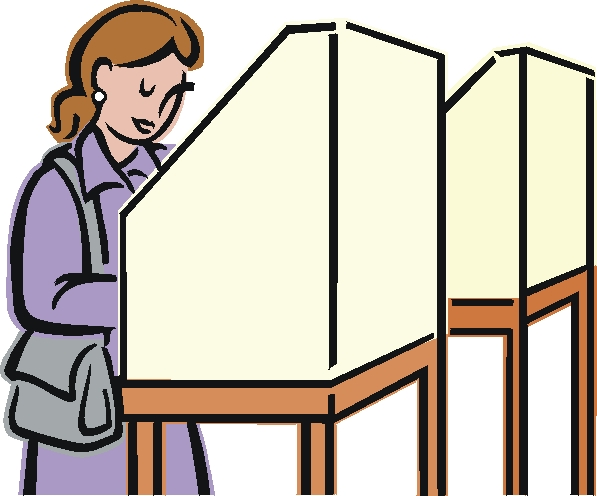 free clipart vote yes - photo #45