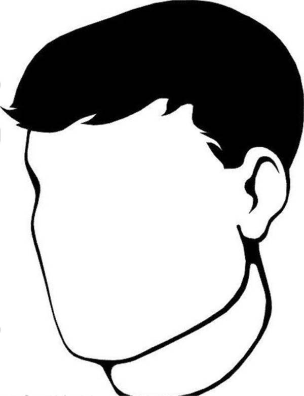 empty head outline  clipart best